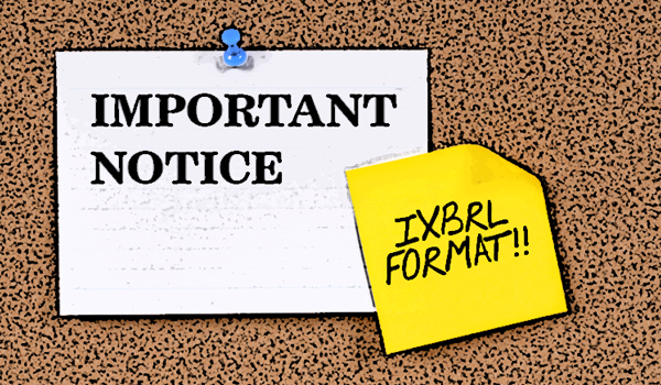 MANDATORY SUBMISSION OF ANNUAL FINANCIAL STATEMENTS VIA IXBRL FORMAT